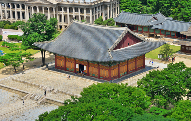 Junghwajeon Hall